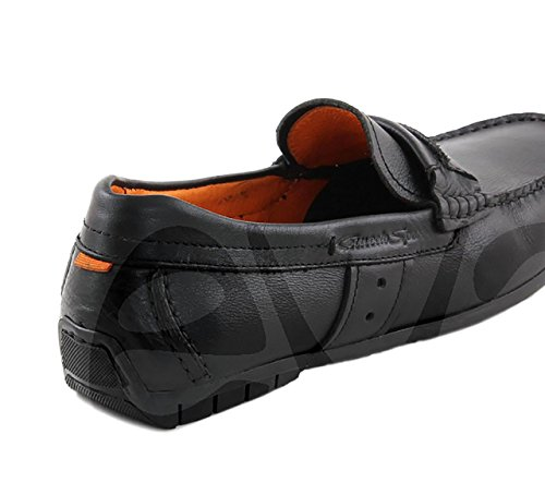 Comodos 332 Caballero Zapato Sport Negro Piel OOrY6Bp