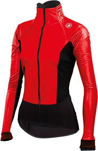 Castelli Cromo Light Jacket - Women's Red/Black Size (Voile Tour Light)