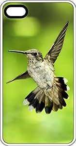 Flying Hummingbird White Plastic Case for Apple iPhone 6
