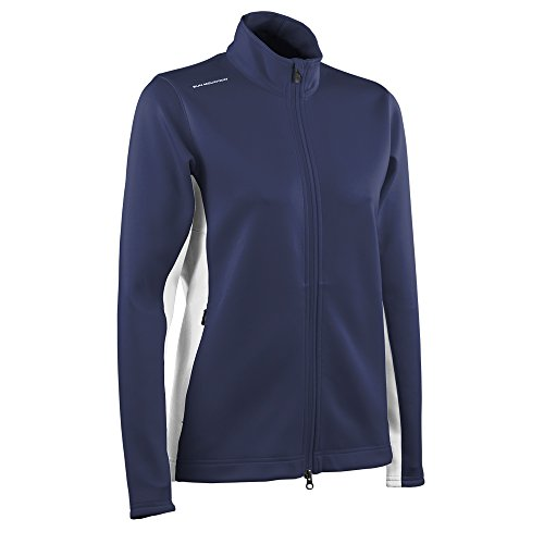Sun Mountain Women's Thermalflex Jacket - Navy-White (Sun Mountain White Jacket)