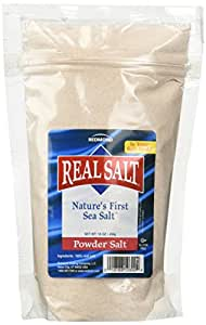 Redmond Realsalt Nature's First Sea Salt Powder Pouch, 16 Ounce