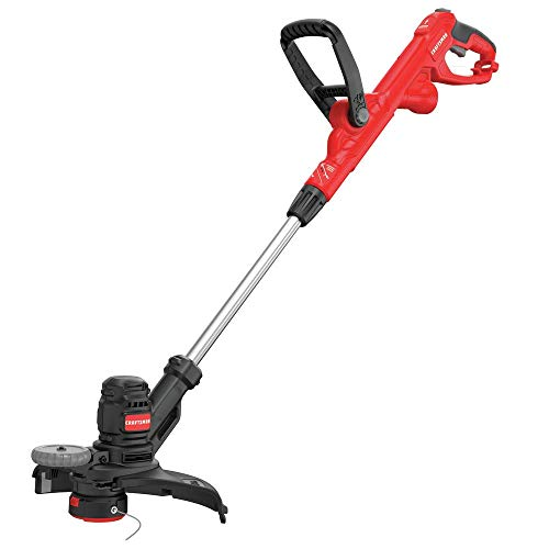 CRAFTSMAN String Trimmer, 14-Inch, 6.5-Amp, Push Button