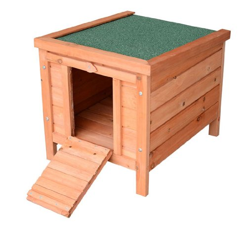 Pawhut Small Wooden Bunny Rabbit / Guine - Small Nesting Box Shopping Results