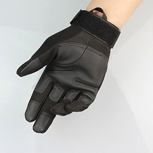 SWAT Military Airsoft Paintball Tactical Gloves Gear Half Finger Bicycle Protect
