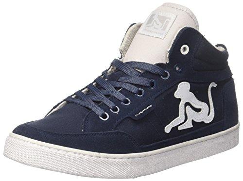 Gray Uomo DrunknMunky a Alto Blu Classic Navylight Collo Sneaker Boston nzqYTwqP