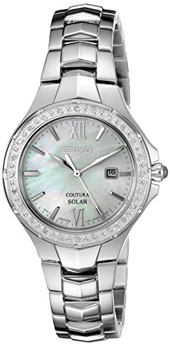 Seiko Coutura Ladies (Seiko Women's SUT239 Coutura Analog Display Japanese Quartz Silver Watch)