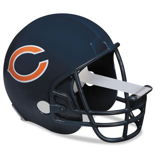 Scotch Magic Tape Dispenser, Chicago Bears Football Helmet with 1 Roll of 3/4 x 350 Inches Tape