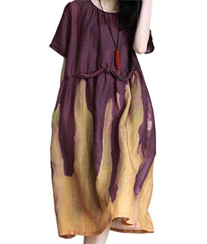 Long Jacket & Contrast Dress - 4