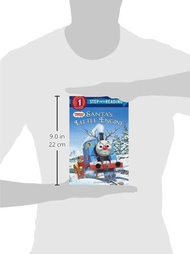 Santas Little Engine /(Thomas /& Friends/) /(Step into Reading/) Paperback – September 23, 2014 Rev. W. Awdry Thomas Lapadula 0385373872 Media Tie-In