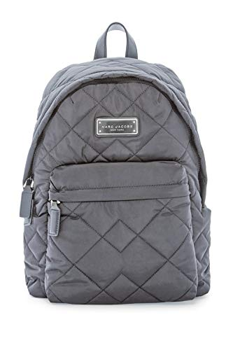 Marc Satchel Quilted Jacobs (Marc by Marc Jacobs Quilted Nylon Backpack (Dark Grey))