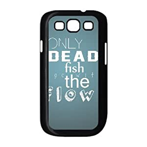 Samsung Galaxy S3 Cases Dead Fish, Girls Protective Funny Cases Vety, {Black}