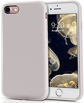 Amazon Com Milprox Silicone Case For Iphone Se 2020 Iphone 8 Iphone 7 Protective Liquid Silicone Phone Cover With Soft Microfiber Cloth For Iphone 8 7 Phone Se 2020 Cases 4 7 Updaded Light Purple Electronics