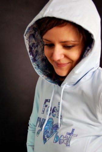 Element Heart Beat Kapuzenpullover Baby Blau Girls Hoody