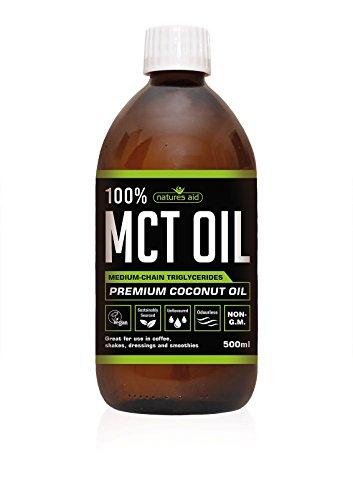 Natures Aid 100 Percent MCT Oil, 500 ml