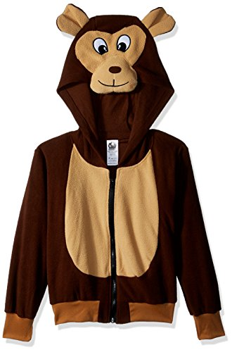 RG Costumes 'Funsies' Morgan The Monkey Hoodie, Child Medium/Size 8-10 ()