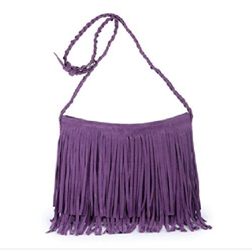 Aoturui Sac femme bandoulière pour Purple rrwdBqxFU