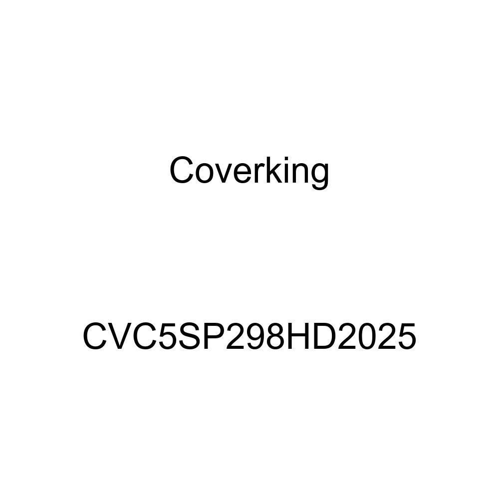 Coverking CVC5SP298HD2025 2-Tone Black-Gray Stormproof Custom Vehicle Cover