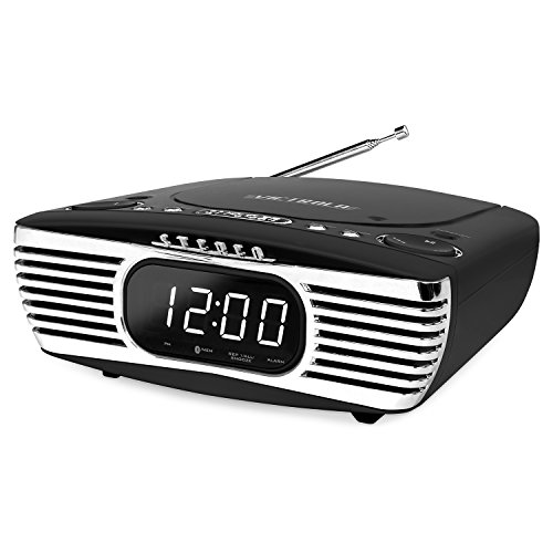 Innovative Technology Surround Alarm Clock Compact Stereo Se