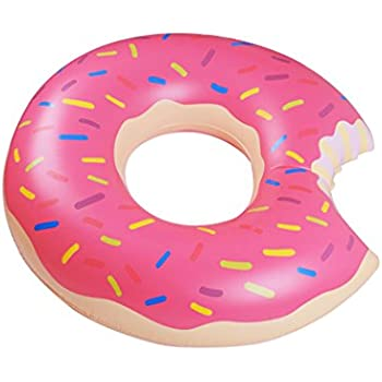 Yaye Donut Pool Float,Doughnut Float Pink for Summer,35.4inch/90cm