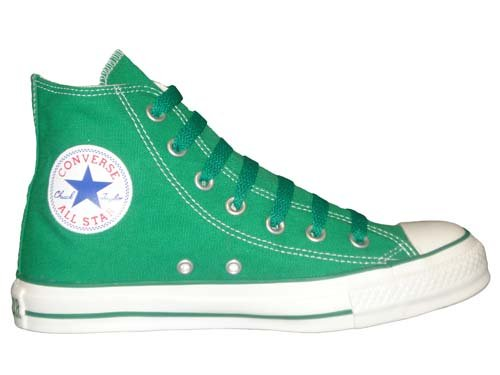 e654396d848a Converse Chuck Taylor All Star Hi Top Kelly Green Canvas Shoes with ...