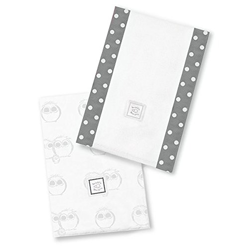 SwaddleDesigns Burpies Cotton Cloths Sterling product image