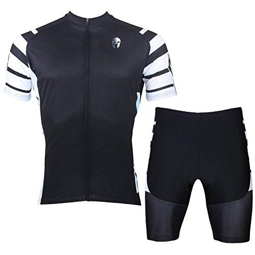 Paladin Men's Short Sleeve Quick Dry Cycling Jerseys Set Size XL