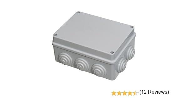 Caja Estanca Superficie Con Tornillo 150x110x70 mm.: Amazon.es ...