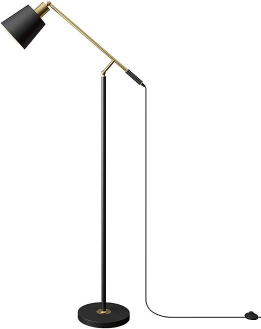 VOVOVO Lámpara de pie LED de Lectura y artesanía, para Salas de ...