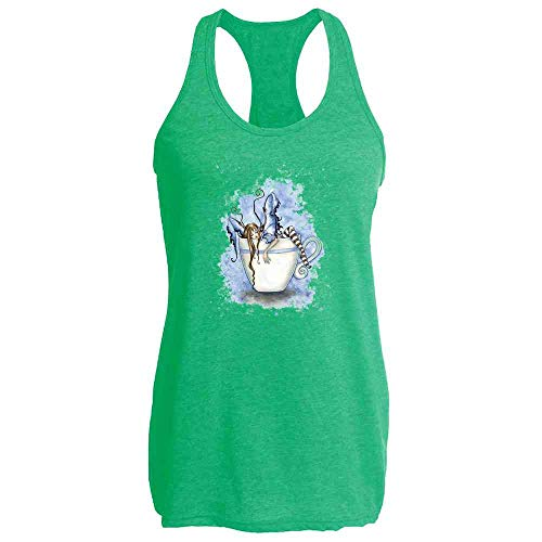I Need Coffee Fairy by Amy Brown Art Heather Kelly XL Womens Tank Top -