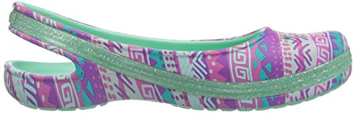 Pictures of Crocs Kids' Genna II Graphic Sparkle Sling- 3
