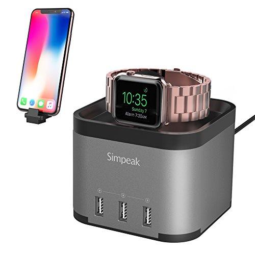 Simpeak Aluminum Charger Nightstand Smartphone