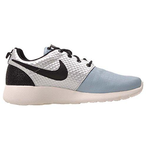 Azul nailon Lx Mujer Metallic Nike Roshe Wmns Silver Piel One Deportivas v6Zwfq