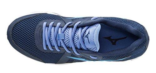 Mizuno 5 nbsp;azul 2 Running Claro Spark 40 Mujer bianco De azul Zapatillas nRqxUAw