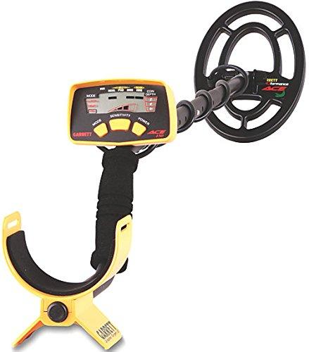 GARRETT ACE Detector de metales color negro amarillo