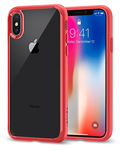 Designed for Apple iPhone Xs Case (2018) / Designed for Apple iPhone X Case (2017) - Red ()