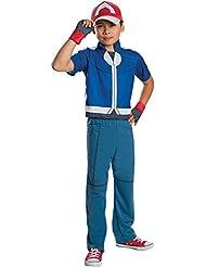 Rubies Costume Pokemon Ash Deluxe Child Costume, Medium