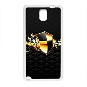Black Fashion Shield Custom Protective Hard Phone Cae For Samsung Galaxy Note3