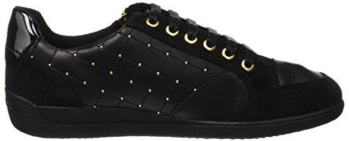 B Black Sneaker Women's Geox Myria qwTHBg6x