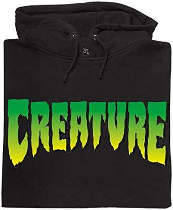 Creature NHS Logo Mens Hooded Pullover Sweats