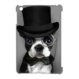 3D Case Of Cute Dog 3D Bumper Plastic Customized Case For iPad Mini
