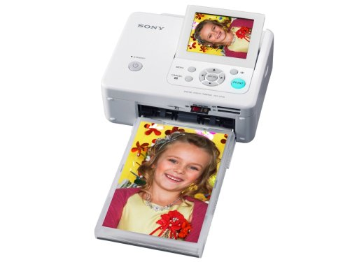 Sony DPP-FP75 Picture Station Digital Photo Printer with 3.5-Inch LCD Tilt-Adjustable Display