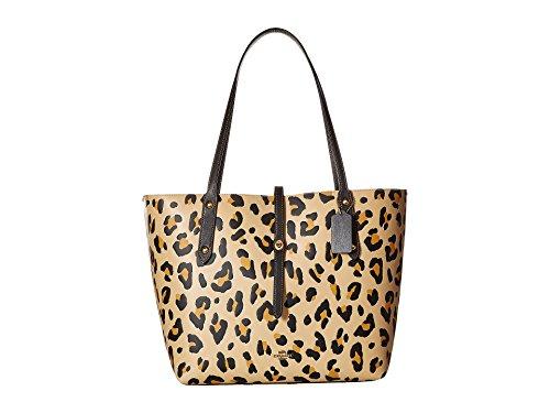 COACH Women's Leopard Print Market Tote Leopard One -