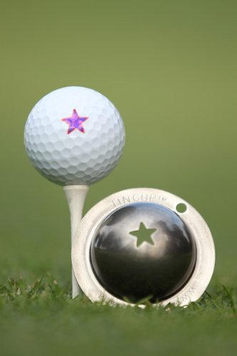 Tin Cup Lone Star Golf Ball Marking Stencil, Steel by Tin Cup