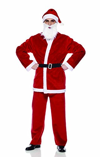 Rubies s it00005 - Peluche Navidad Disfraz Papá Noel, para ...