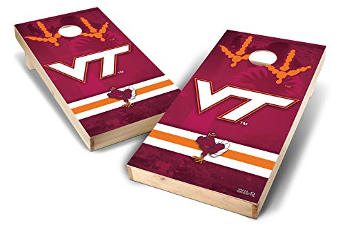 - PROLINE NCAA College 2' x 4' Virginia TeCH Hokies Cornhole Board Set - Wild