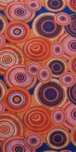 (O3 O3MFHK046 Kids Rag Tops Convertible Headwear, Pink Orange Circles)