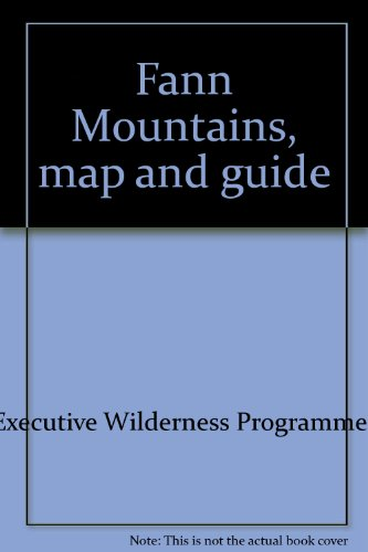 Fann Mountains, map and guide