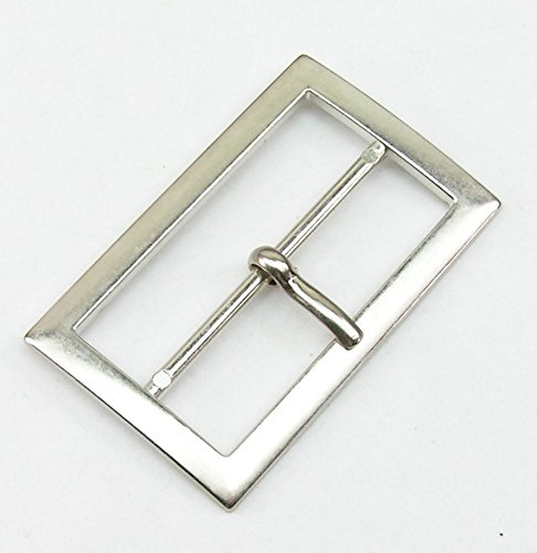 1Silver Tone Buckle Clasp Buckle 5cm Rust-Proof 01.43s TvT-web