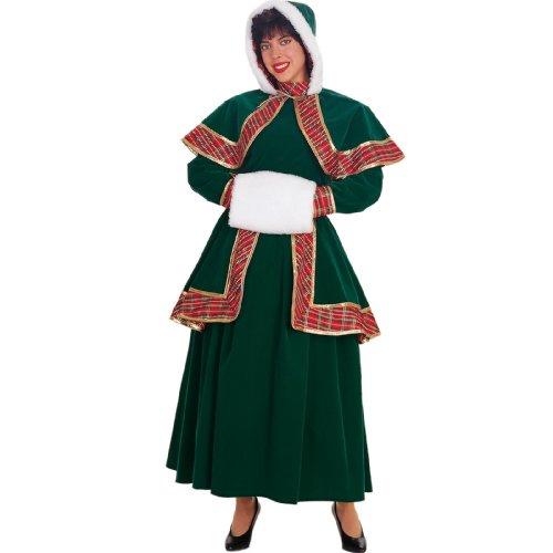 Christmas Carolers Costumes (Long Victorian Christmas Caroler Adult - Large)