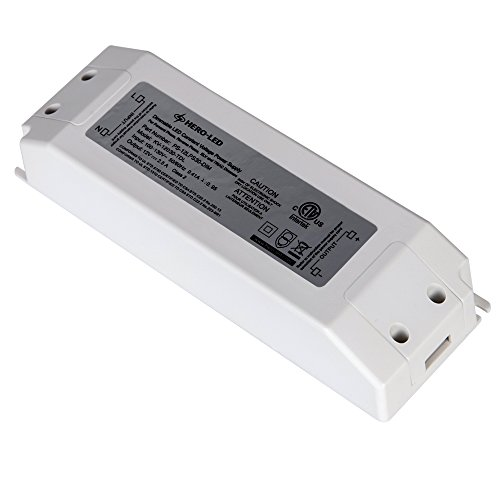 HERO-LED PS-12LPS30-DIM ETL-listed Dimmable LED Constant Voltage Power Supply - Dimmble LED Transformer 12V DC, 2.5A, 30W